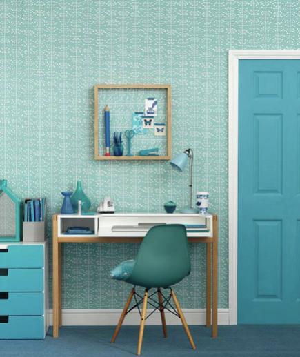 24 Contoh Desain Wallpaper Dinding yang Cantik - Electrifying - Best Home Wallpaper Design