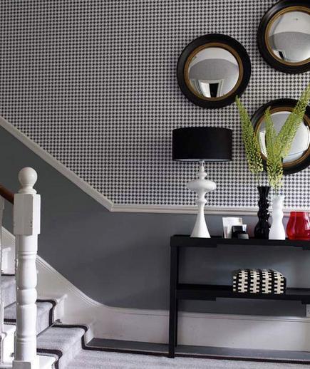 24 Contoh Desain Wallpaper Dinding yang Cantik - Handsome - Best Home Wallpaper Design