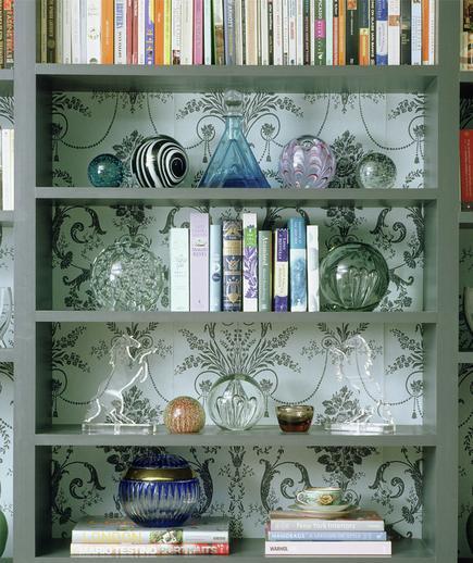 24 Contoh Desain Wallpaper Dinding yang Cantik - Refined - Best Home Wallpaper Design