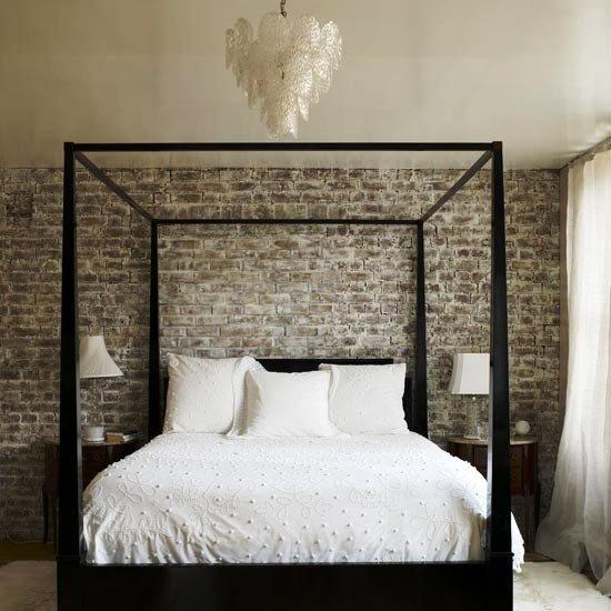 Gambar Batu Bata Desain Interior Modern dan Klasik - Tembok Batu Bata - Interior Desain Kamar Rumah 02