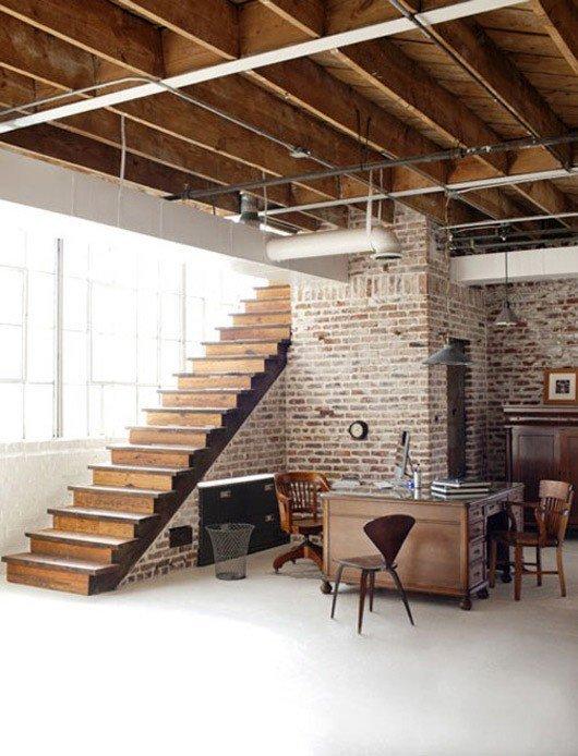 Gambar Batu Bata Desain Interior Modern dan Klasik - Tembok Batu Bata - Interior Desain Kamar Rumah 10