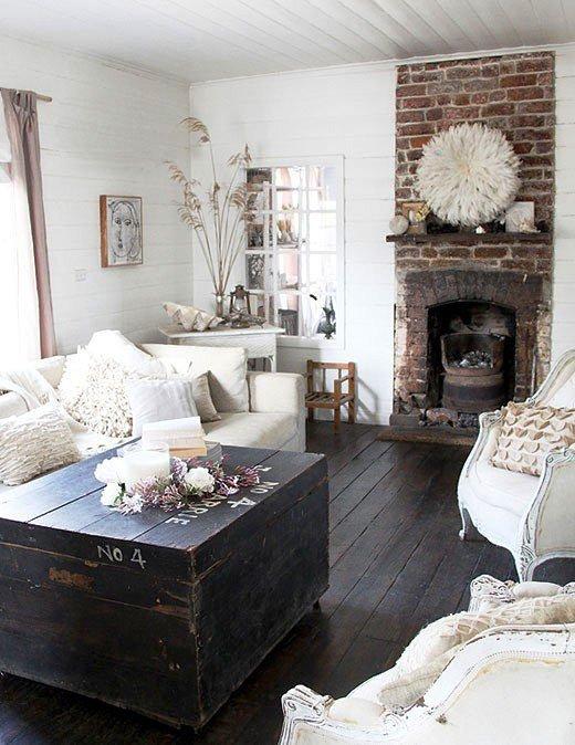 Gambar Batu Bata Desain Interior Modern dan Klasik - Tembok Batu Bata - Interior Desain Kamar Rumah 26