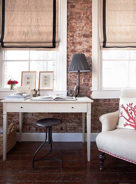 Gambar Batu Bata Desain Interior Modern dan Klasik - Tembok Batu Bata - Interior Desain Kamar Rumah 33