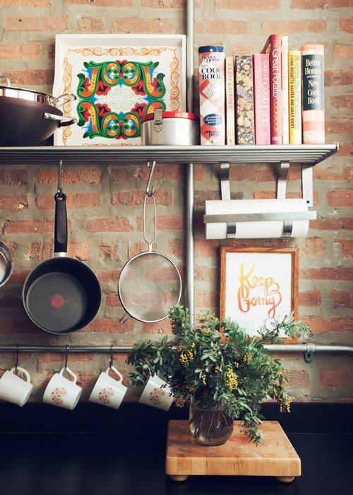 Gambar Batu Bata Desain Interior Modern dan Klasik - Tembok Batu Bata - Interior Desain Kamar Rumah 38