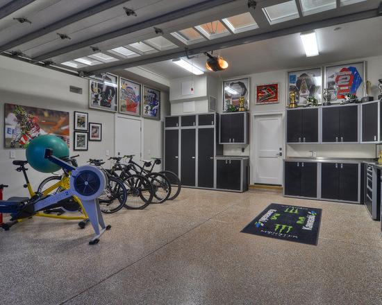 Kontraktor Pelapisan Epoxy Coating Proyek Lantai Gedung - Epoxy Coated Floor contemporary garage 2
