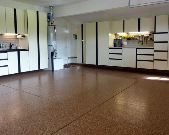 Kontraktor Pelapisan Epoxy Coating Proyek Lantai Gedung - Epoxy Coated Floor contemporary shed