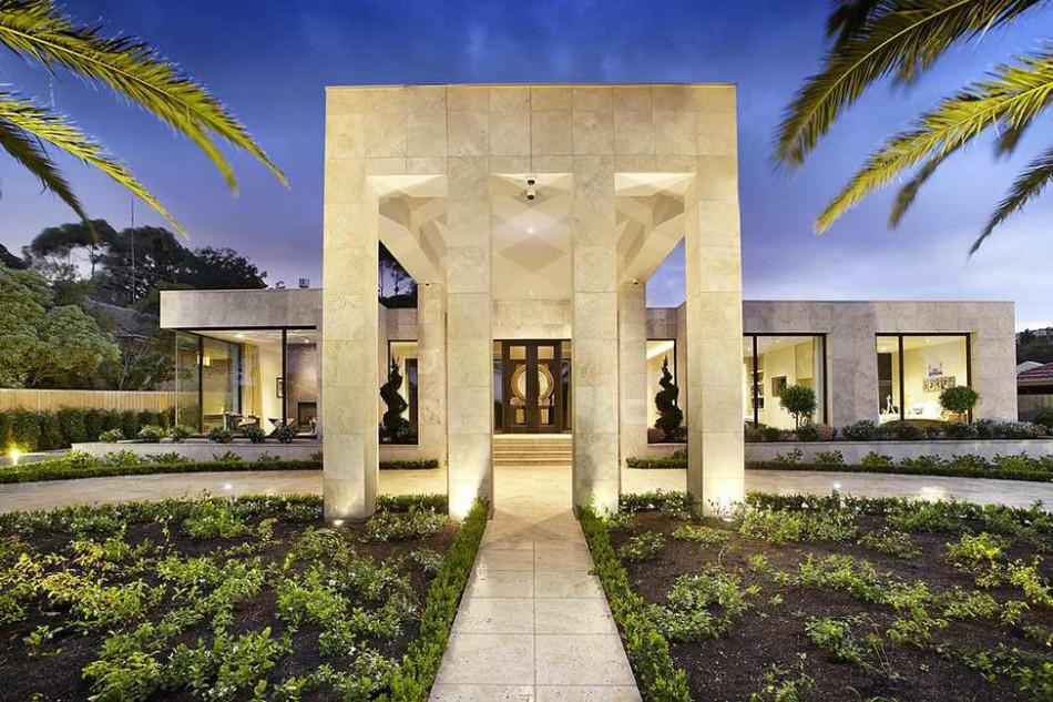 Gambar Desain Rumah Mewah 08