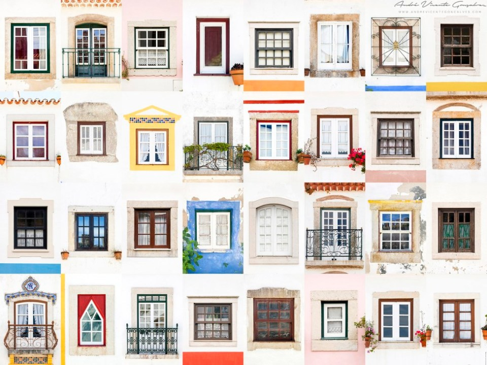 Windows of the World - Obidos