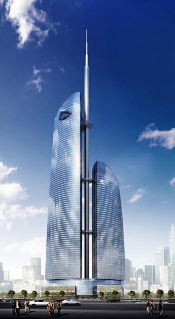 Gedung Tinggi Baru di Dunia Tahun 2015 - Vostok-Tower1