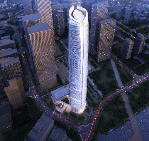 Gedung Tinggi Baru di Dunia Tahun 2015 - Wuhan-Center 1