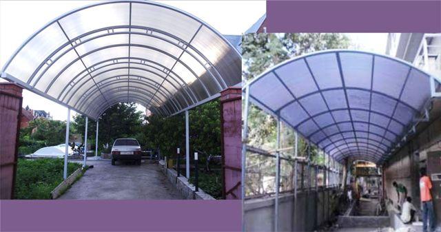 Cara memilih kanopi polikarbonat untuk rumah minimalis