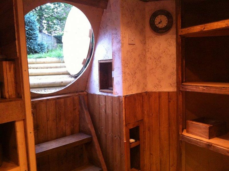 Interior of hobbit home