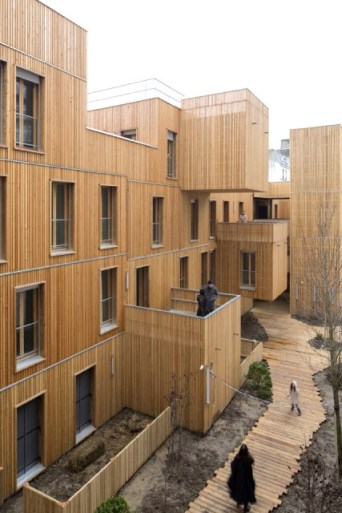 Ideas of Architecture using Wood Detail