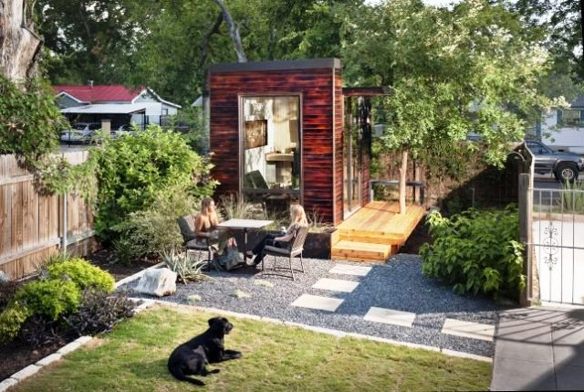 Studio Workspaces in the Backyard