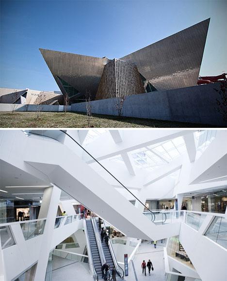 Westside Center by Libeskind in Bern, Switzerland