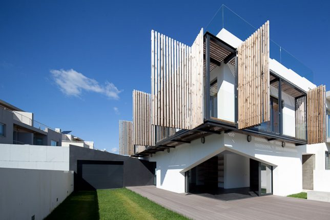 Contemporary and Sophisticated Exterior Treatments