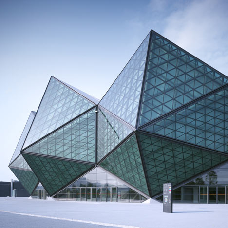 Architectural Shape like Gemstones