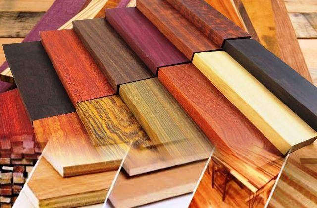 Jenis ukuran kayu bahan konstruksi