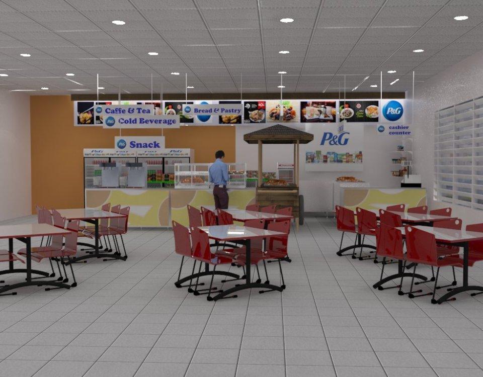 P&G Booth Interior Design Portfolio