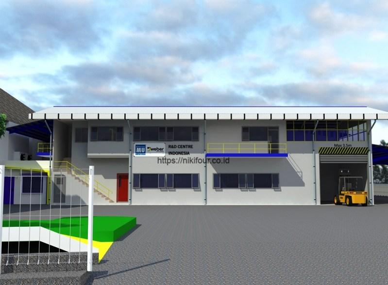 New R&D Building Mortar Utama Cibitung