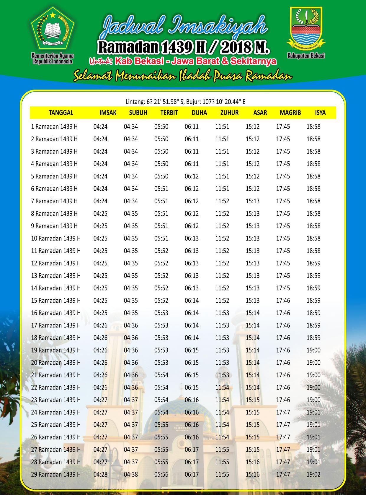 imsakiyyah puasa ramadhan 1439 h 2018 jadwal free download rh nikifour co id