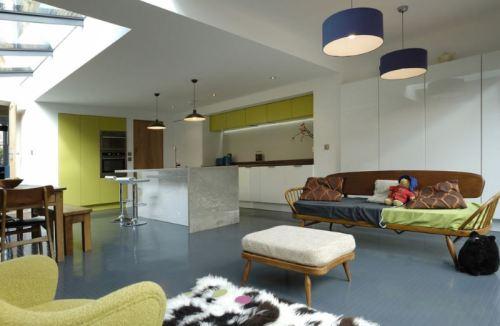 Lantai berbahan Karet dengan Desain Cantik dan Modern