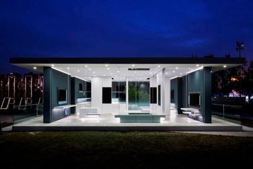 Konsep Rumah Masa Depan ala House Vision China