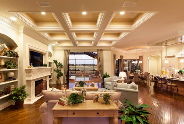 Lee Wetherington Homes Ceiling