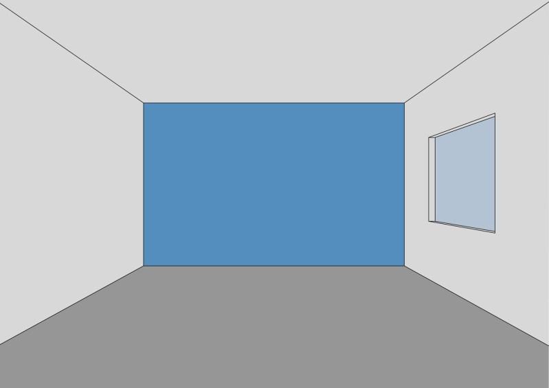 mengubah persepsi ruang dengan pengecatan