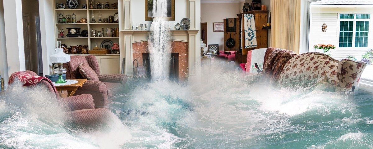 Apabila banjir di rumah