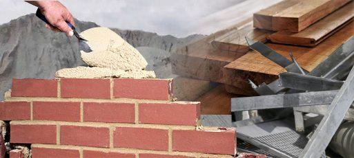 jenis-jenis bahan bangunan konstruksi