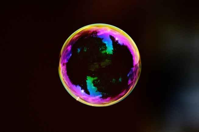 ball black bubble colorful
