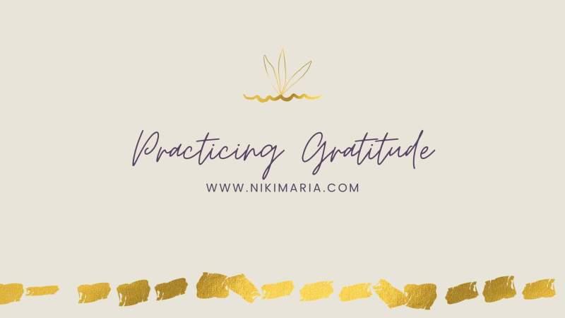 practicing gratitude header