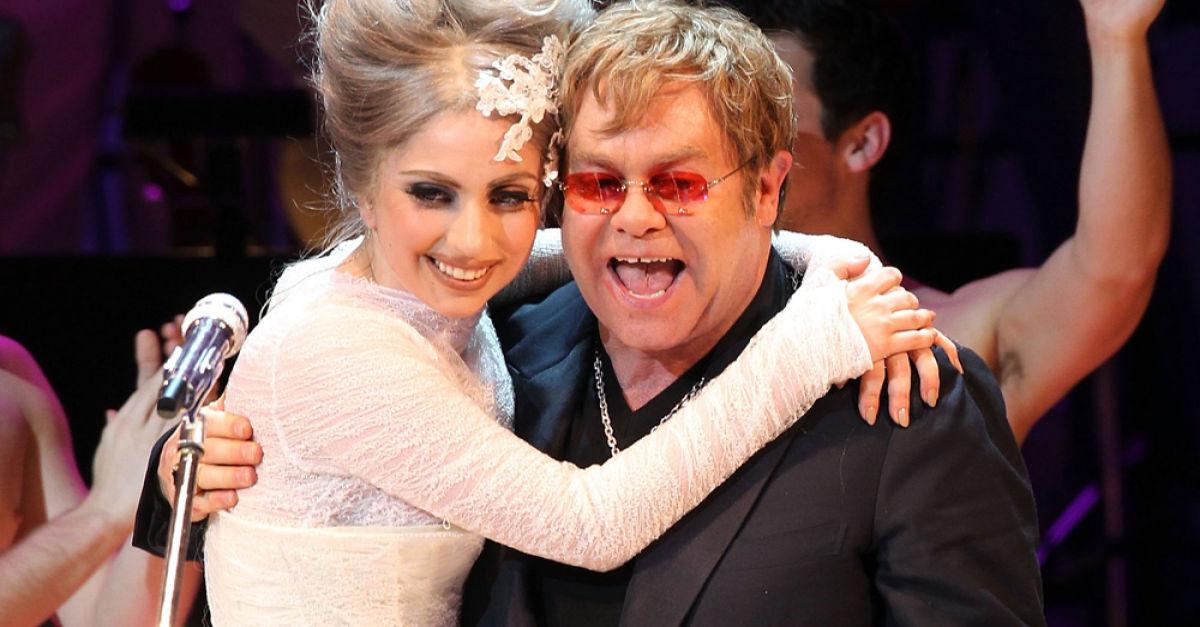 Элтон Джон и Lady Gaga точно работают вместе