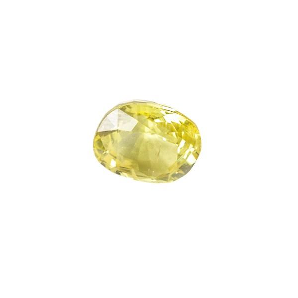 Yellow Sapphire (Pukhraj) - 3.9 carat from  Bangkok