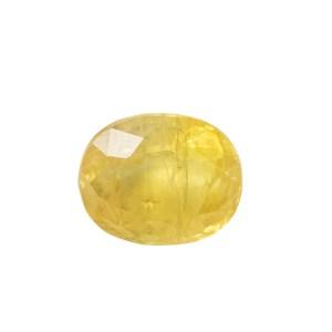 Yellow Sapphire (Pukhraj) - 3.2 carat from  Bangkok