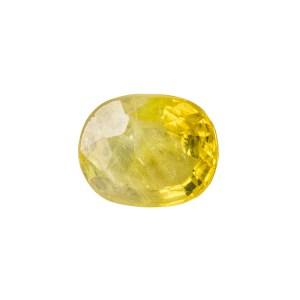 Yellow Sapphire (Pukhraj) - 2.9 carat from  Bangkok
