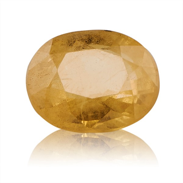 Yellow Sapphire (Pukhraj) -  3.63 carat from Bangkok