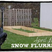 If April Showers Bring May Flowers...What Does April Snow Flurries Bring?