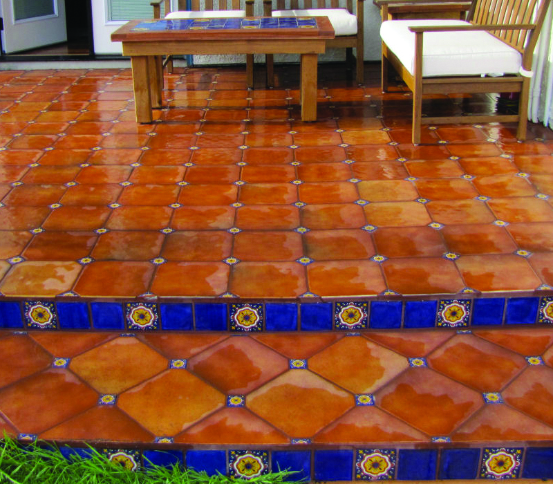mexican tile tile marble
