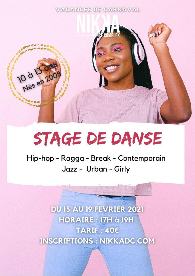 Stage de danse Court-St-Etienne