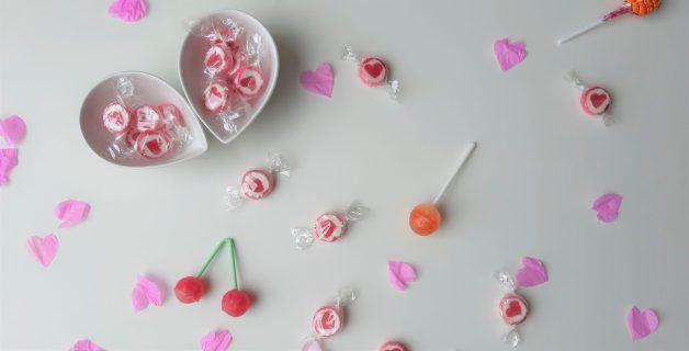 Valentijn en snoepjes