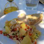 Aardappelsalade met tonijn