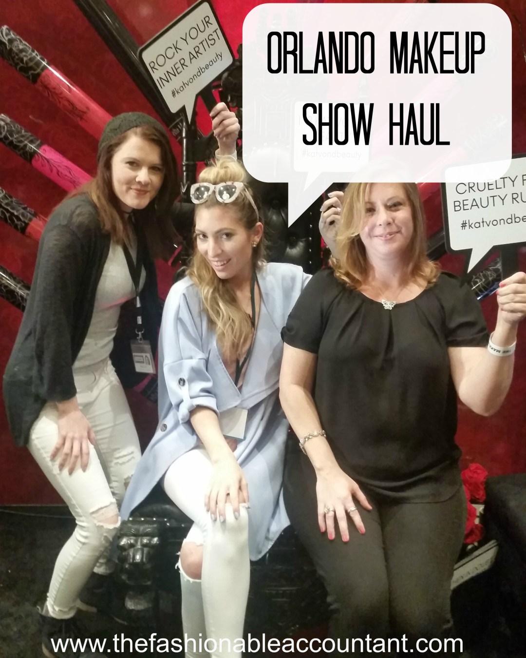 Orlando Makeup Show Haul