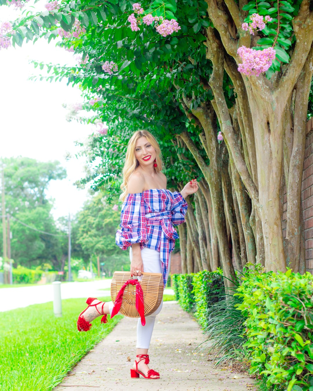 4TH OF JULY OOTD RED, WHITE, AND BLUE
