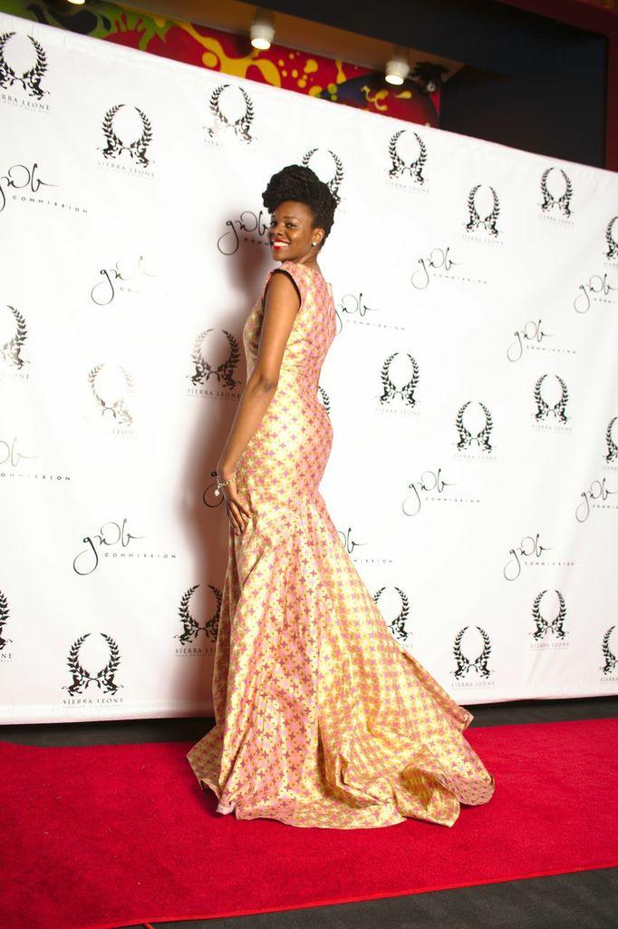 Nikki Billie Jean's Gown for GWB Ball 2014 1