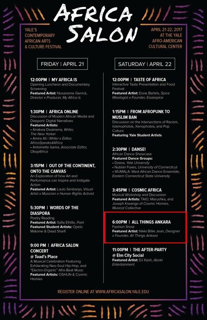 Nikki Billie Jean Featured Artist at Africa Salon 2017 1