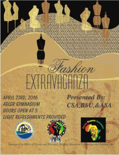 Penn State Altoona ASA Presents Fashion Extravaganza 2016