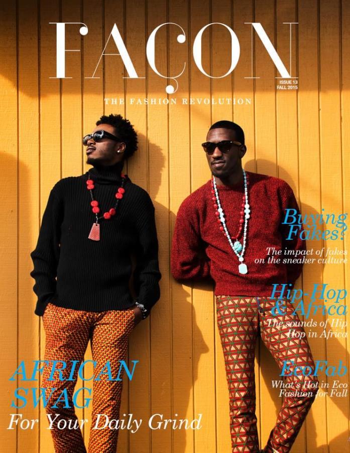 Facon Magazine Issue 13 Fall 2015 Cover
