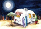 There's No Place Like Home Original Watercolor Sold Cards and prints are available.